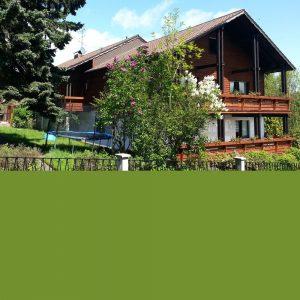 Aussenansicht Fachwerk-Ferienhaus von Gabi Moritz
