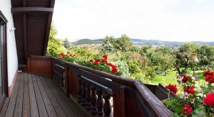 Balkon im Ferienhaus Schöne Aussicht von Gabi Moritz