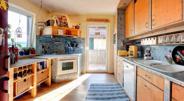 """Küche im Ferienhaus """"Schöne Aussicht"""""""