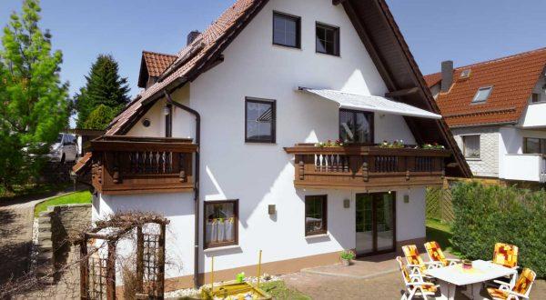 Ferienhaus Schöne Aussicht in Thüringen von Gabi Moritz