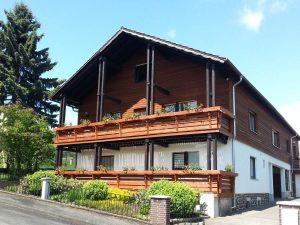 Außenaufnahme Haus Rhönblick