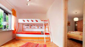 Stockbett im Ferienhaus von Gabi Moritz