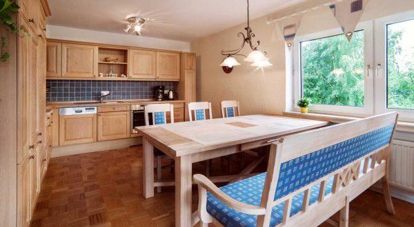 Küche im Ferienhaus Rhönblick, in Hilders Thüringen