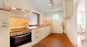 Küche im Ferienhaus Rhönblick Hilders von Gabi Moritz