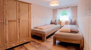 Kleines Schlafzimmer Ferienhaus Gabi Moritz, Thüringen