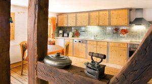 Voll ausgestattete Küche im Ferienhaus Gabi Moritz in Oberweid