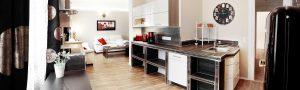 Moderne Küche in der Ferienwohnung in Suhl von Gabi Moritz
