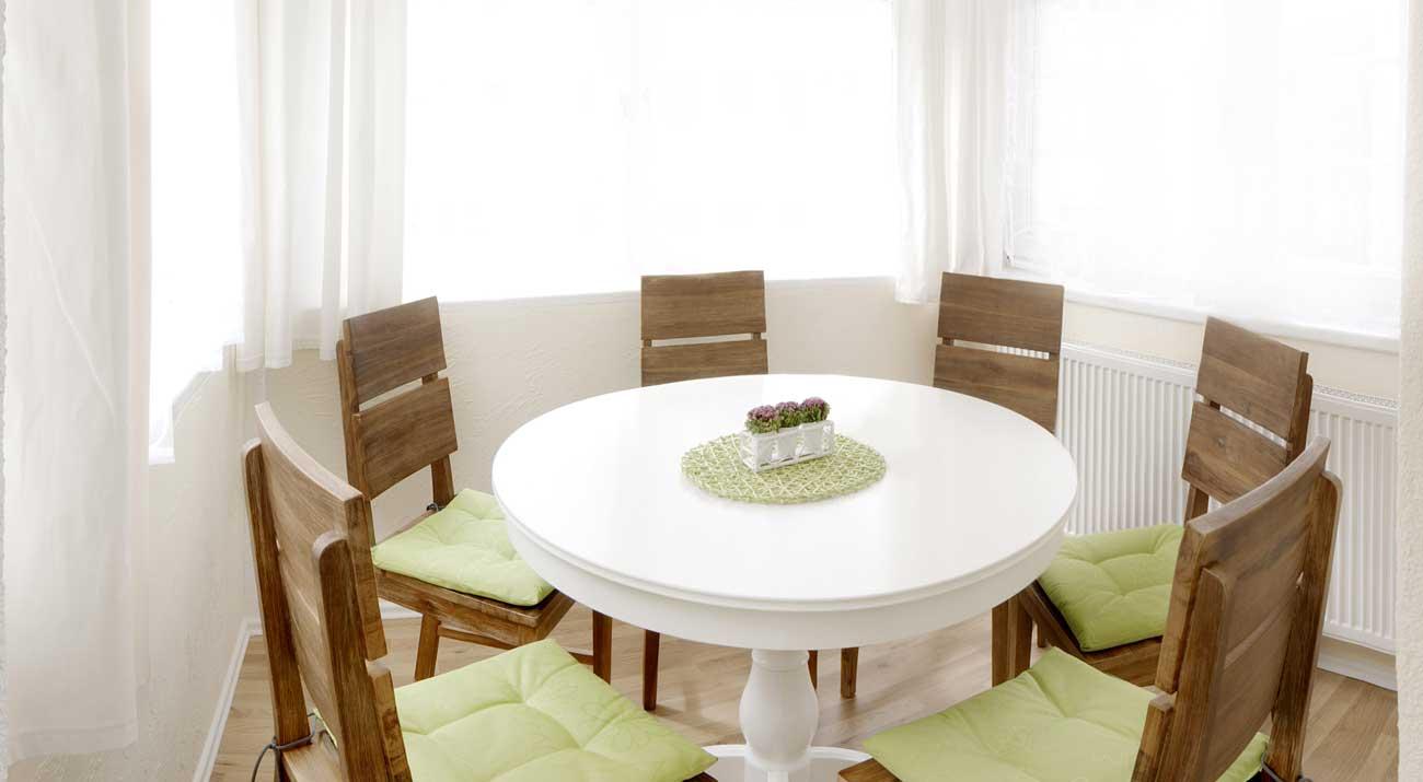 Esszimmer in der Ferienwohnung in Suhl von Gabi Moritz