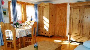 Wohnzimmer im Ferienhaus Gabi Moritz in Oberweid