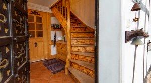 Eingangsbereich im Ferienhaus Schöne Aussicht im Thüringer Wald