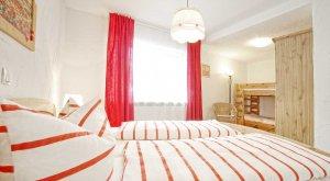 Schlafzimmer in der Ferienwohnung von Gabi Moritz