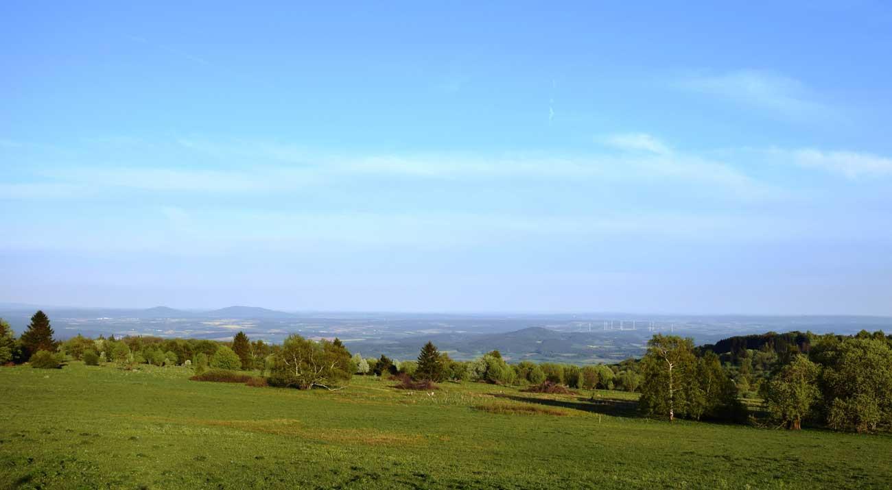 Landschaft Hohe Rhön