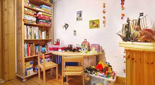 Spielecke im Ferienhaus Gabi Moritz